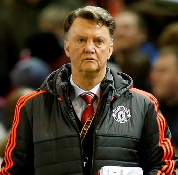Manchester United manager Louis van Gaal is defiant that the plan is working. Photo: Carl Recine/Action Images via Reuters