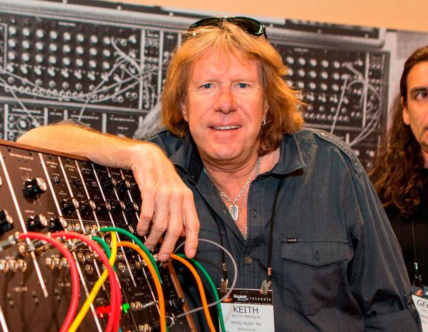 Musician Keith Emerson died on March 11 at 71. (Photo by Paul A. Hebert/Invision/AP, File)