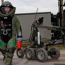 Army Bomb Disposal Team attended scene. File picture