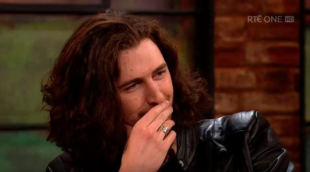 Hozier is bemused by fan Leanne's tattoo of his head on her arm