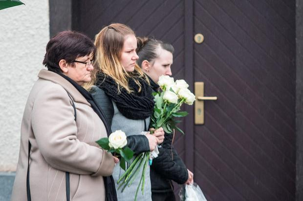 The funeral has taken place of 11 month old baby, Karol Rozycki in St Martin Church in Ochaby, Poland