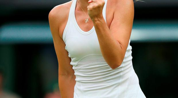 Russia's Maria Sharapova Photo: John Walton/PA Wire