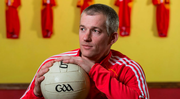 Castlebar Mitchels joint-manager Declan Shaw has played a part in ensuring the club no longer rests on the laurels of the past Photo: Piaras Ó Mídheach