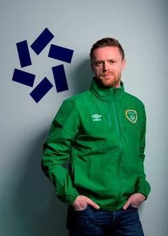 Damien Duff: 'Martin and Roy aren't stupid. I'm sure Robbie (Keane) said 'give us a couple of nights out.' Picture credit: Brendan Moran / Sportsfile