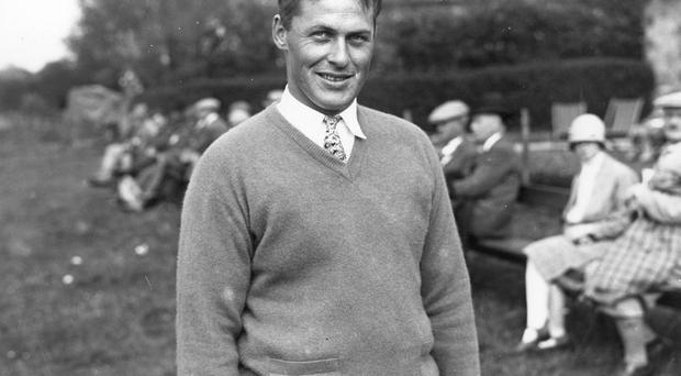Bobby Jones (1902 - 1971) Photo: Central Press/Getty Images