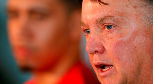 Louis van Gaal: 'If we can create an atmosphere like the one at Liverpool anything is possible'. Photo: Reuters