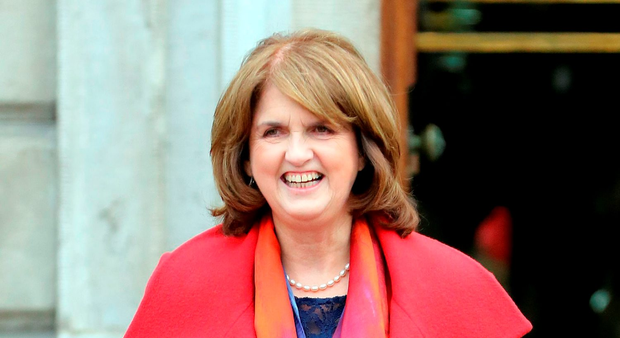 Labour leader Joan Burton Photo: AFP/Getty