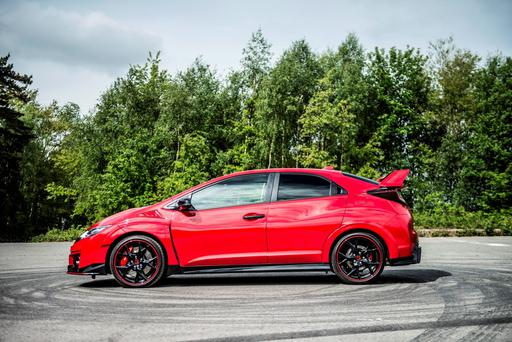 Seriously fast: Under development, the Civic Type R achieved a speed of 270kmh