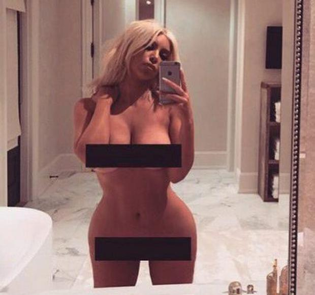 Kim and that latest selfie