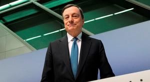 Mario Draghi, President of the European Central Bank (ECB) Photo: AFP/Getty Images
