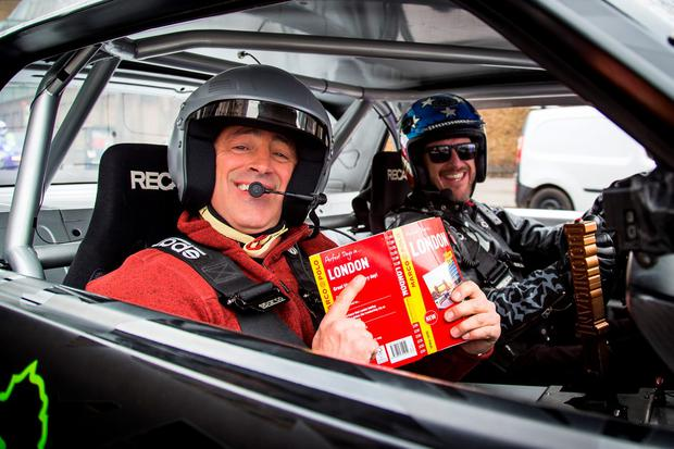 Matt LeBlanc getting to grips with London on Top Gear