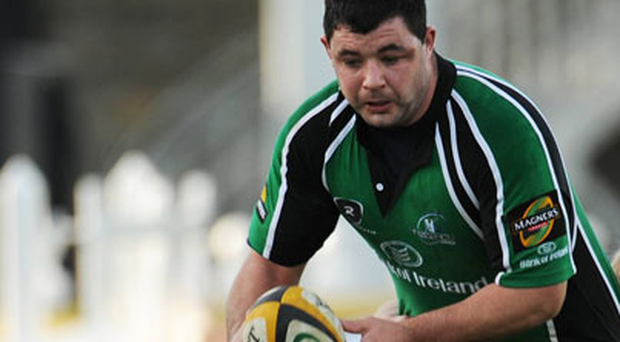Kevin Moran in action for Connacht 'A' in 2008