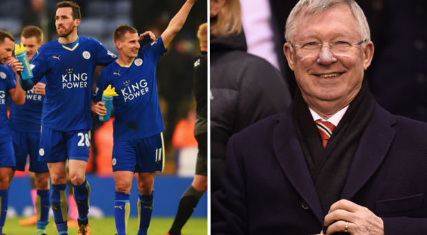 Fergie has tipped Leicester to win the league