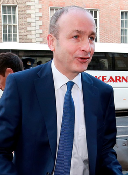 Micheál Martin: negotiations. Photo: Frank Mc Grath