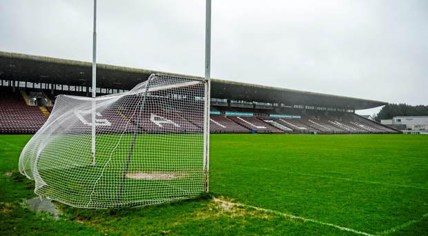 'Carlow made a number of changes and it was James Connolly who threw the Saffrons a lifeline when firing to the net on 52 minutes' Stock photo: Sportsfile