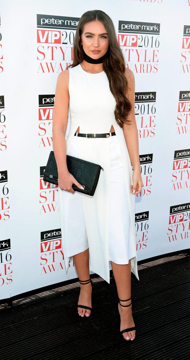 Model Shauna Lindsay at the launch of the Peter Mark VIP Style Awards 2016 at The Marker Hotel, Dublin. Picture: Brian McEvoy