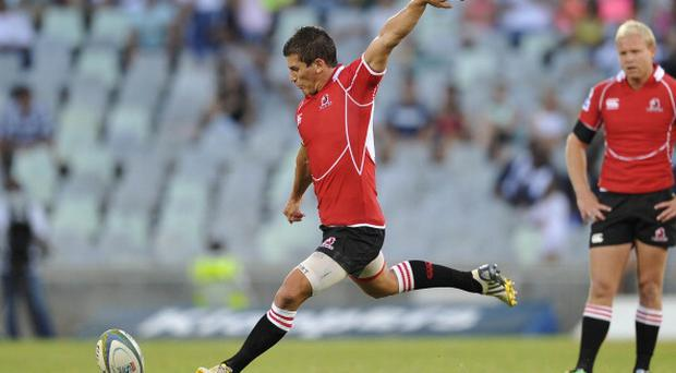 BLOEMFONTEIN, SOUTH AFRICA - FEBRUARY 15: Marnitz Boshoff of the Lions during the Super Rugby match between Toyota Cheetahs and Lions at Vodacom Park on February 15, 2014 in Bloemfontein, South Africa. (Photo by Louis Botha/Gallo Images/Getty Images)