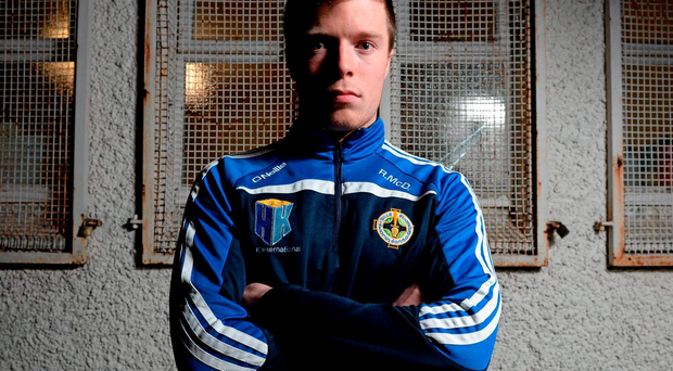 Robbie McDaid is revelling in the possibility of sharing an unlikely All-Ireland club football success with his first cousin Paul Durcan. Photo: Cody Glenn/Sportsfile