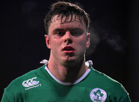 James Ryan following the U20 Six Nations Rugby match against Wales. Photo: Ramsey Cardy/Sportsfile
