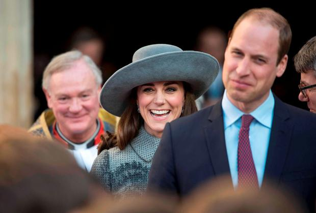 Britain's Prince William and his wife Kate. Reuters/Geoff Pugh/pool