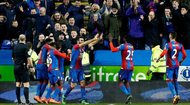 Crystal Palace will play Watford in the semi-finals of the FA Cup in a repeat of the Championship play-off final of 2013. Reuters / Eddie Keogh