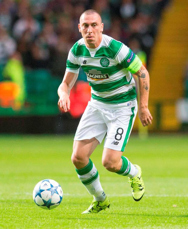 Celtic captain Scott Brown welcomed the club's decision to subsidise tickets for Hoops fans going to Kilmarnock on Saturday. Photo: Jeff Holmes/PA Wire