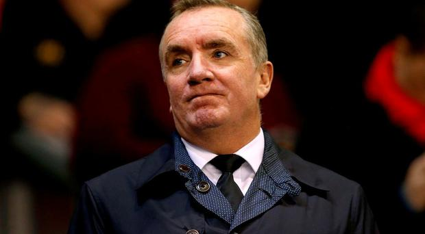 Ayre will be only 53 when he walks away from his boyhood club at the end of May 2017. Photo: Peter Byrne/PA Wire