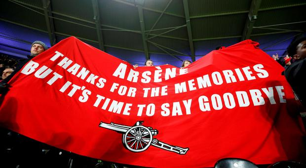 After Sunday's home defeat to Watford in the FA Cup, there has been further growth in Arsenal fans wanting the club to dispense with Arsene Wenger. Photo: Action Images via Reuters / Carl Recine