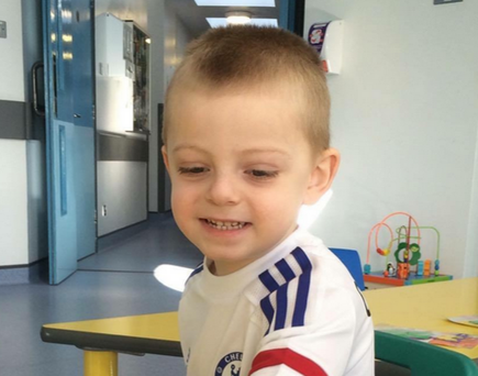 Ryan Ross (4) died suddenly on Sunday in hospital