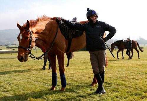 Ruby Walsh with Annie Power