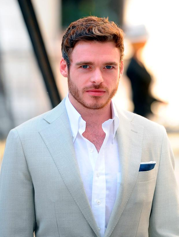 Richard Madden attends the Royal Academy of Arts Summer Exhibition on June 3, 2015 in London, England. (Photo by Stuart C. Wilson/Getty Images)