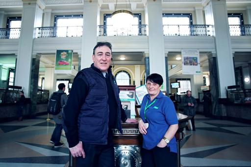 Sue Gannon and Philip Freer in 'Inside the GPO' - RTE One, 7pm, March 15