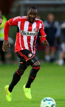 Cabral (Adilson Tavares Varela) in action for Sunderland