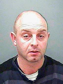 Undated handout photo issued by the National Crime Agency of Wayne Bush, the ninth person to be jailed in connection with the interception of a yacht carrying cocaine with a street value of more than £160 million off the south-west coast of Ireland