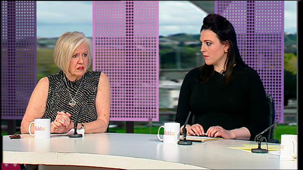 TV3's Midday - Eileen Reid and Susan Webster