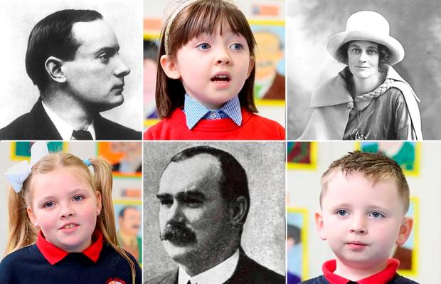 The kids of St. Ultan's Primary School in Cherry Orchard
