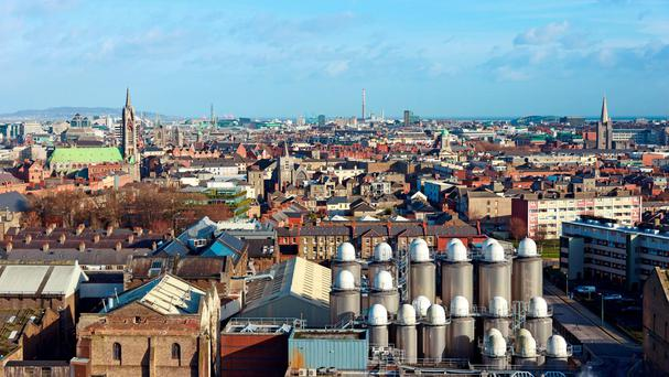 The Dublin skyline: for many older people, their choice will be to remain in the homes in which their families were raised, rather than move elsewhere.