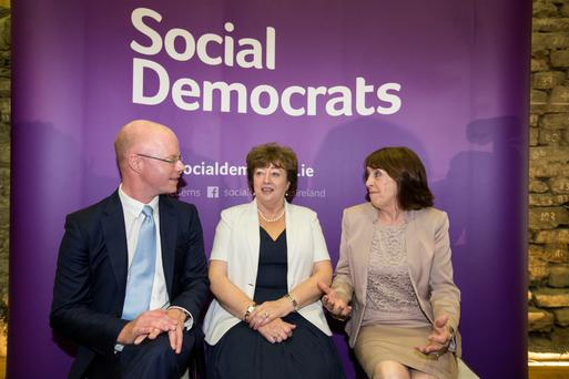 Ms Murphy, who is co-leader of the party, said following discussions with her colleagues Roisin Shortall and Stephen Donnelly, they decided to end all engagements with Enda Kenny and Micheál Martin