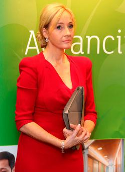 File photo of JK Rowling. Photo: Andrew Milligan/PA Wire