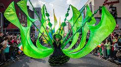 Fáilte Ireland expects a significant increase in travellers from abroad for the festivities, and says a price tag cannot be put on the economic impact made from the publicity the country will receive for both St Patrick's Day and the Easter Rising Commemorations the following week. Picture: Alan Place/FusionShooters.