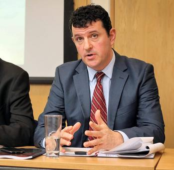 Kieran McQuinn said easing mortgage lending rules could help boost housing supply. Photo: Frank McGrath