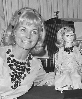 Thunderbirds co-creator Sylvia Anderson, best known for voicing Lady Penelope in the hit TV show, who has died aged 88 at her home in Bray, Buckinghamshire Credit: PA Wire