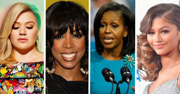 Kelly Clarkson, Kelly Rowland and Zendaya have come together for Michelle Obama's Let Girls Learn initiative.