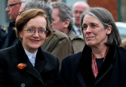 Attorney General Máire Whelan and Chief Justice Susan Denham are among the women at the top of the country's public legal system. Photo: Collins