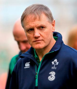 Ireland head coach Joe Schmidt. Photo: Niall Carson/PA Wire