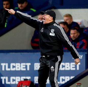 West Brom manager Tony Pulis. Photo: Carl Recine/Action Images via Reuters