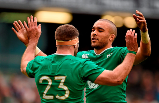 Ireland's victory against Italy left plenty of room for optimism despite a slow start to the campaign (SPORTSFILE)