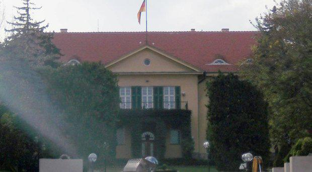 The Germany embassy in Ankara