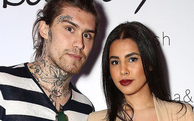 Marco Pierre White Jr. and Jessyca Hydleman attend French label ba&sh launch in the UK at The Arts Club in London