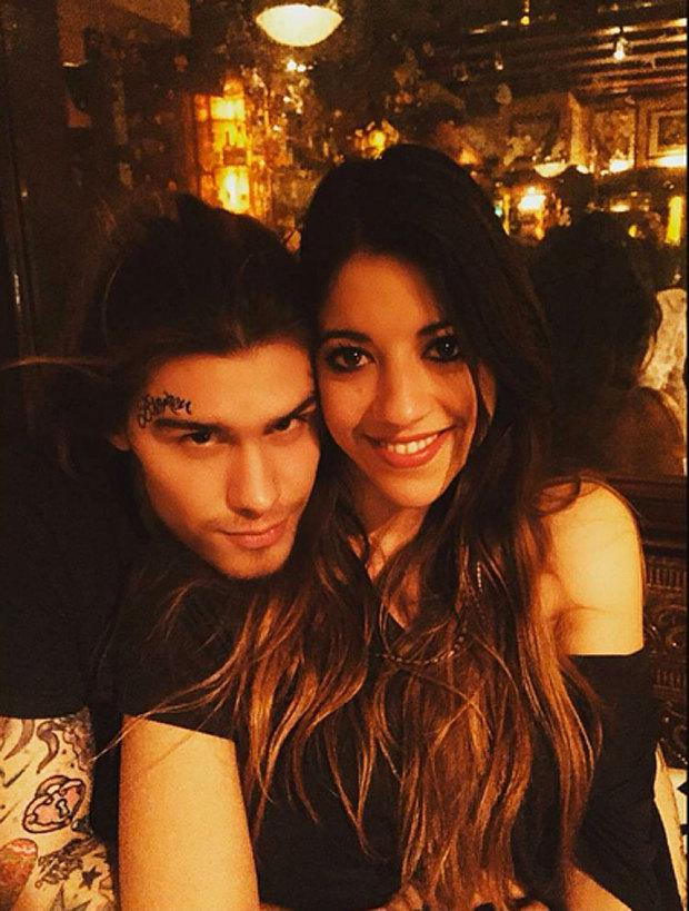 Marco Pierre White Jr and his fiancé Jessica Hydleman
